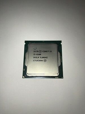 Intel Nucleus i5-6500  SR2L6  3.2GHz  Processor USED WORKS PERFECT. FREE Shipping