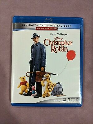 CHRISTOPHER ROBIN (Blu-ray only) Winnie the Pooh Children's Fantastic