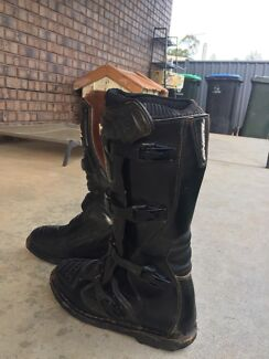 Oneal dirtbike boots size 10