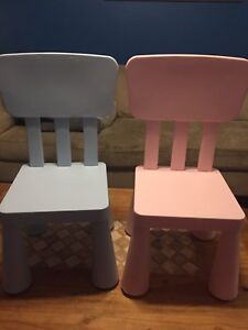 IKEA toddler chairs