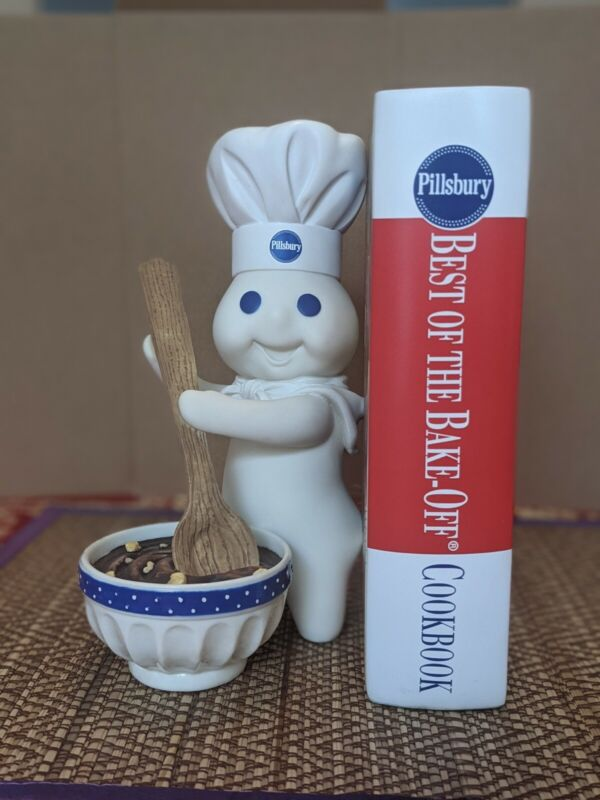 Danbury Mint Pillsbury Doughboy Bookends