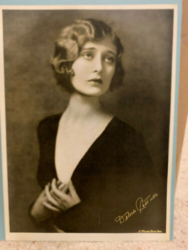 Dolores Costello - Vintage Sepia Tone WB publicity photo approx. 10x14