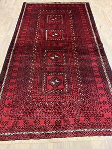 184x102cm Persian Balouchi Nomadic Style Handmade Rug