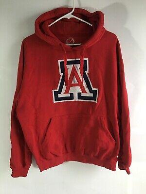 Medium University Of Arizona UofA Red Logo Sweatshirt Hoodie - University Of Arizona Logo