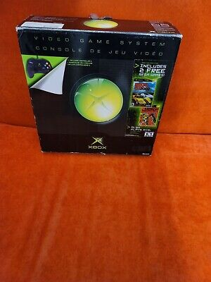 Original Microsoft Xbox Game Console ~ Complete in Original Sega Variant Box