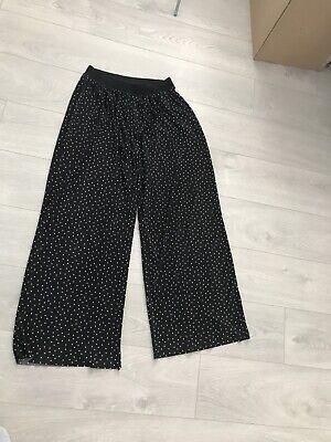 Jacqueline De Yong Asos Brand Large Polka Dot Plisse Trousers