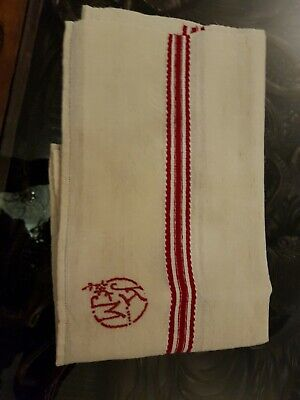 Antique  embroidered kitchen towel
