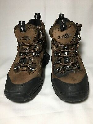 Z-Coil Desert Hiker Hiking Boots Shoes - Women's Euro 38, US 7 Brown  VGC Laces