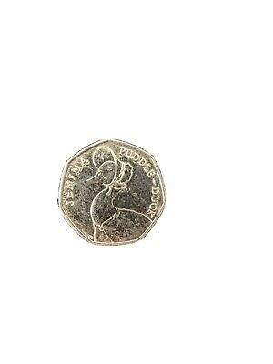 Beatrix potter 50p jemima puddle duck 50 p coins