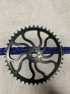 Free Agent Race Sprocket For 3 Piece Cranks Black 39T Bike