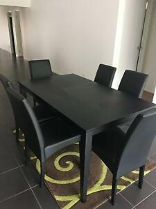 6 seater dining table and chairs for sale. Cranbourne East Casey Area Preview