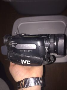 Pentax HD camera JVC HDD camcorder with accessories