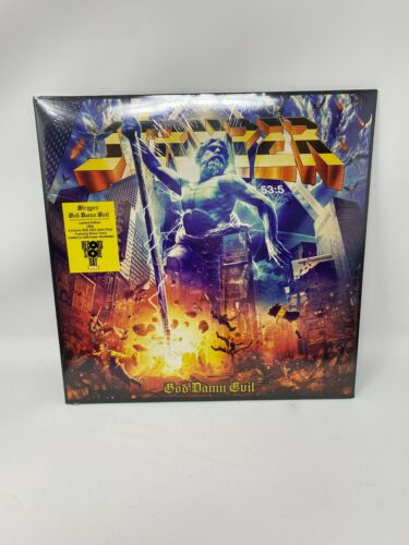 STRYPER - GOD DAMN EVIL LP VINYL RECORD STORE DAY RSD 2021