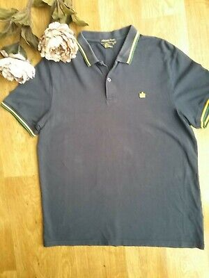 Admiral polo shirt size L navy blue good condition