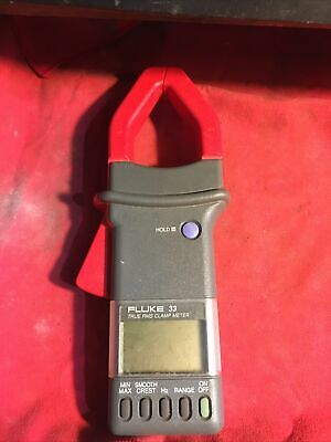 Fluke 33 True Rms Amp Clamp Meter