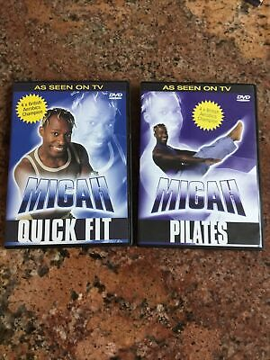 Migah Pilates And Quick fit DVD