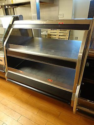 Falcon Fabricators Custom 2-tier Hot Food Warmer Display Case 45 Wide 120208
