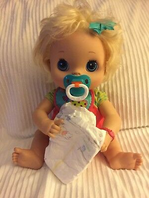 Pacifier & Diapers For My Baby Alive Doll Accessories Only ()