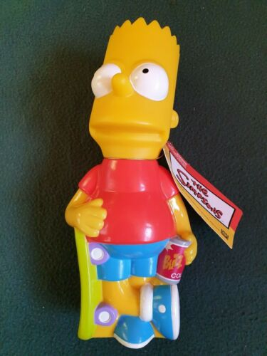"Vintage 2001 Bart Simpson ""Bart Sipper""   New With Tags"