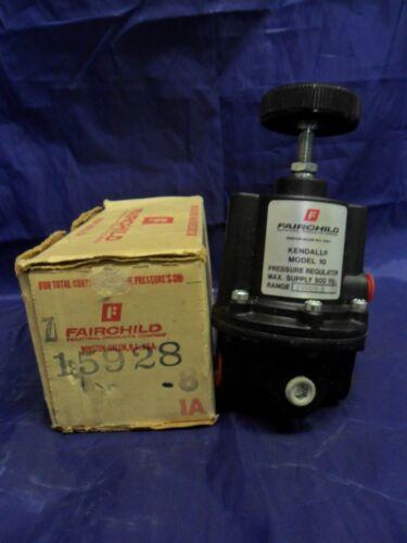 New Fairchild 15928 Pressure Regulator Model 10 500 PSI NIB