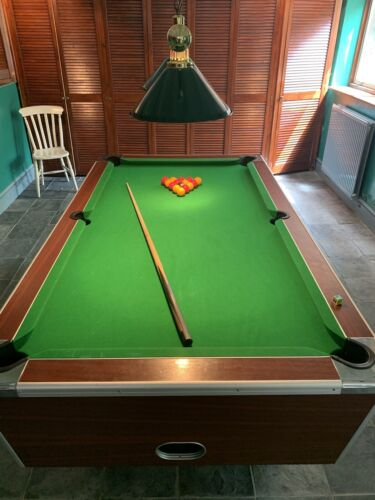 7ft Elite Slate Bed Pool Table and Aramith Pro Cup Balls. Delivery Included (M25).