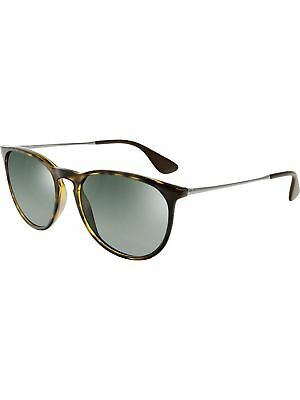 Ray-Ban Unisex Erika RB4171-710/71-54 Light Havana Green Lens Sunglasses