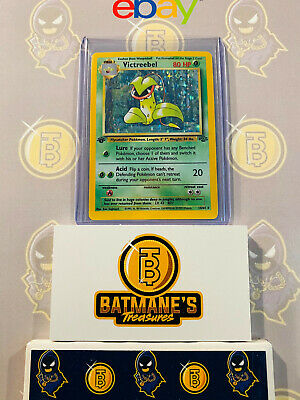 Victreebel 14/64 1st Edition LP/NM Near Mint Jungle Set Rare Holo Pokemon Card