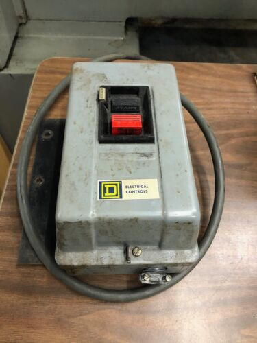 Square D Electric 2510MBG2 Manual Motor Starter