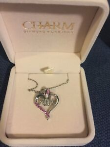 Charm Diamond Centres Necklace