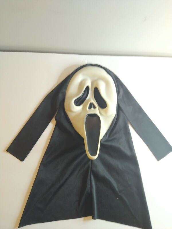 Scream Ghost Face Mask Easter Unlimited Fun World T STAMP GLOWS EXCELLENT COND