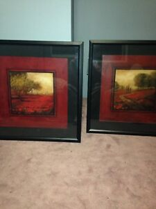 signed paintings art set pictures