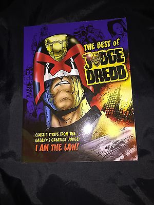 THE BEST OF JUDGE DREDD TRADE PAPERBACK GRAPHIC NOVEL BOOK NEW FREE