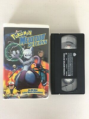 Pokemon: Mewtwo Returns (VHS, 2001, Clamshell Packaging) Johto Pikachu Movie