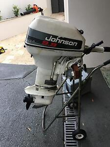 9.9hp Johnson outboard motor Sutherland Sutherland Area Preview