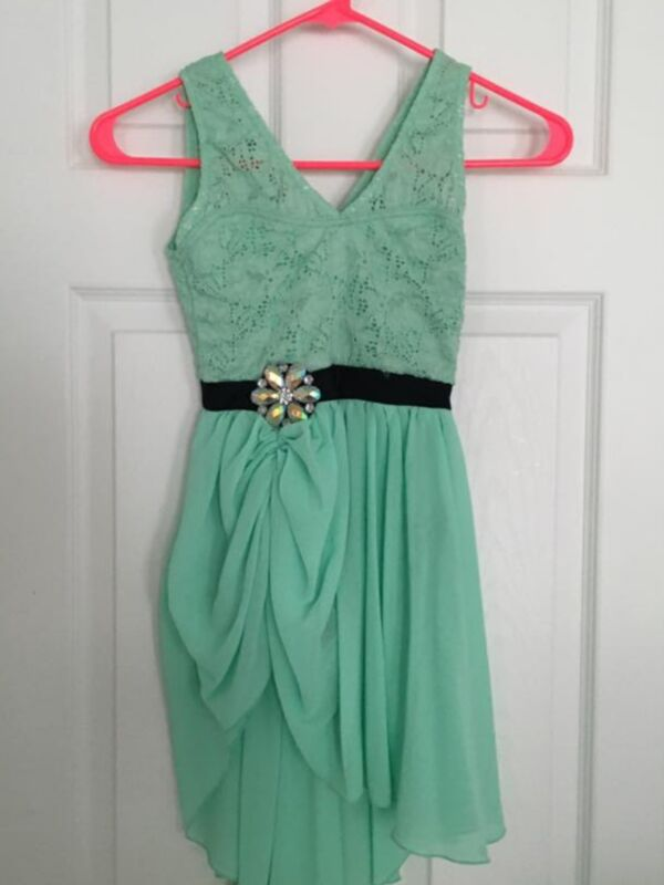 Girl Weissman 7541 Imagine Mint Green Ballet Dance Costume Size MC Medium Child