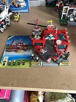 6389 Vintage Lego Legoland Fire Station