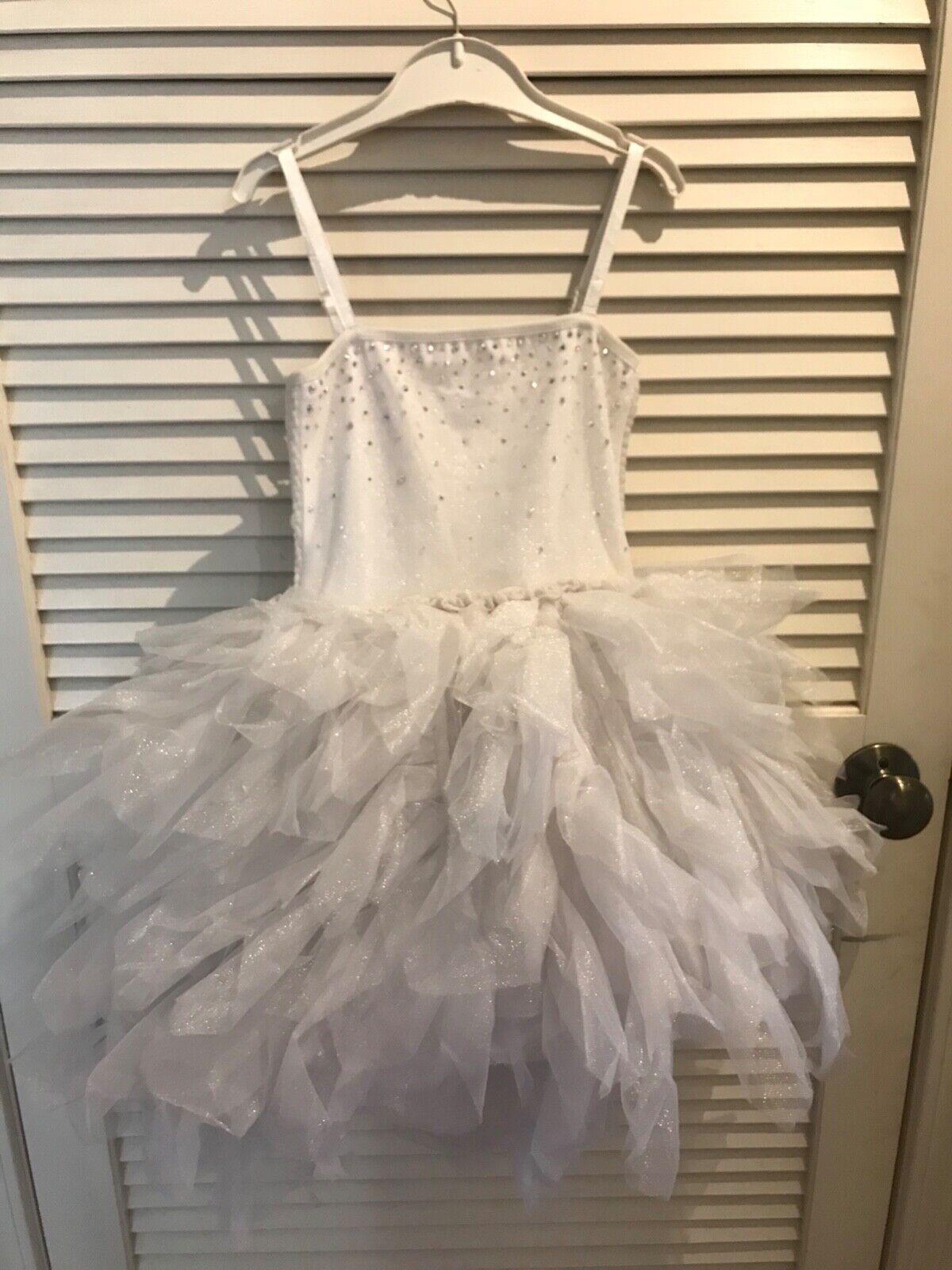 girls dresses size 6 7 white dress
