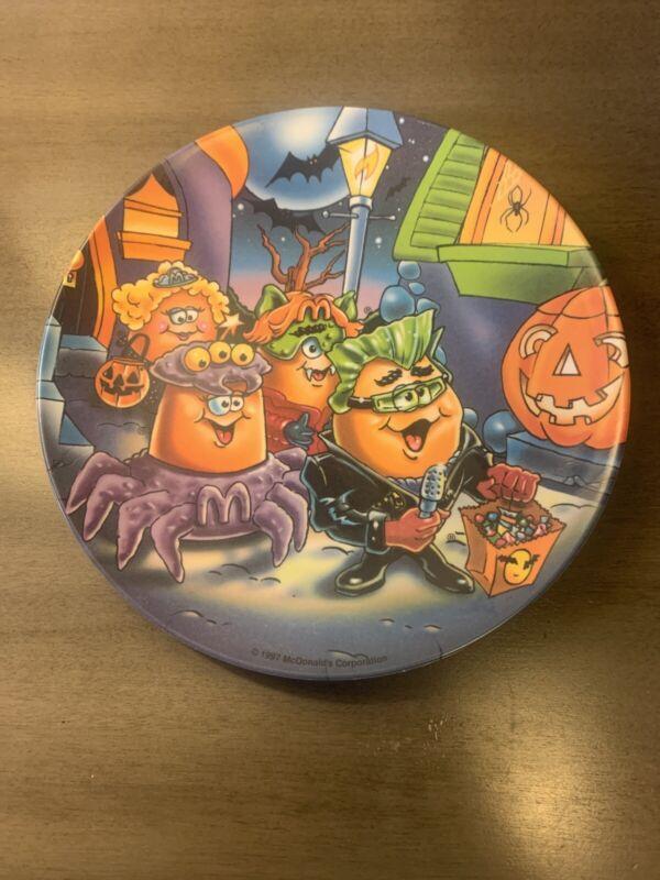 Vintage McDonalds Plates Halloween Chicken Nugget Trick Or Treating