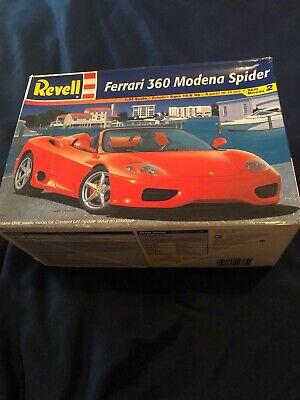REVELL FERRARI 360 MODENA SPIDER 1/24 Scale PLASTIC MODEL KIT MPN 85-2365