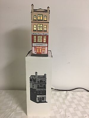 Dept 56 Christmas in the City Series Bakery 65129