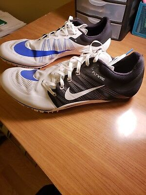 big sale f2467 c23b8 Nike Zoom JA Fly 2 Unisex Track Spikes Running Shoes 705373-100 Size 14