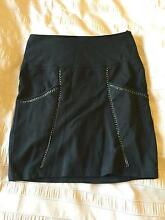 USED TOKITO BLACK SKIRT / SIZE 8 Angle Park Port Adelaide Area Preview