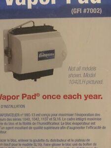 Humidifier pad