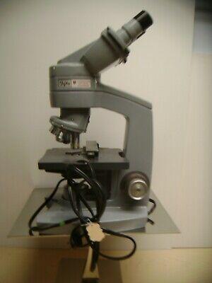 American Optical Fifty Lab Binocular Microscope Model 60 61 62 W 3 Lense