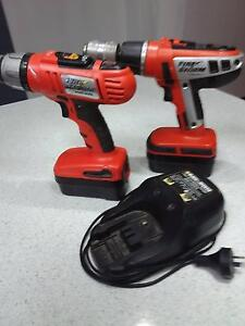 Drills 2x Black and decker 18V Bayswater Bayswater Area Preview
