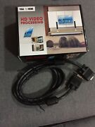 VGA to HDMI converter + VGA Cord Sydney Region Preview