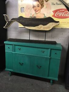 RETRO REFINISHED BUFFET SIDEBOARD- on sale $300