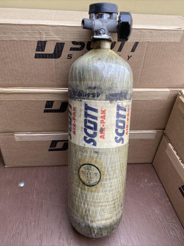 Scott 4.5 SCBA 4500psi Carbon Fiber 45 min Tank Cylinder 2005 CGA347