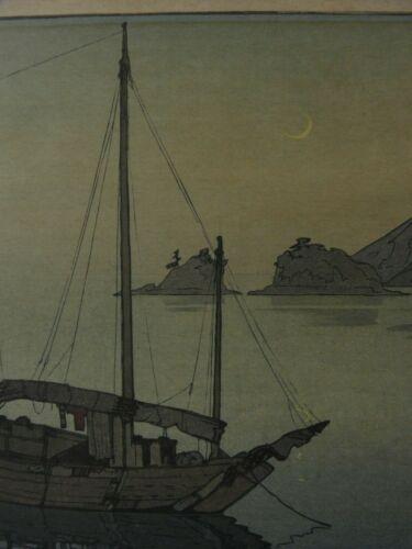 JAPANESE WOODBLOCK PRINT YOSHIDA HIROSHI