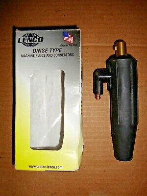 Lenco Ldt-917-f Dinse Type Machine Plug Tig Connector